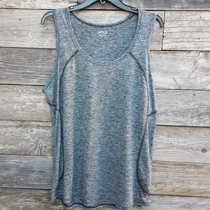 BCG sleveless grey athletic top